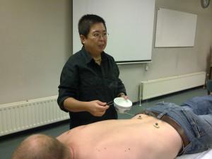 Moxa-therapie voor lage rugpijn
